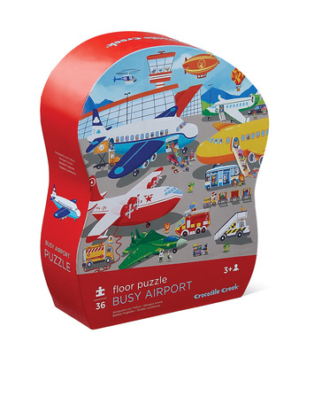 Busy Aiport Shaped Puzzle picture