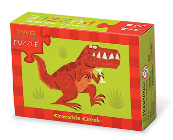 Dinosaurs Two-Sided Puzzle picture
