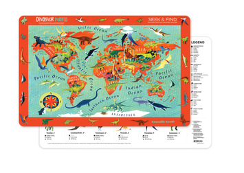 2-Sided Placemat/Dinosaur World picture