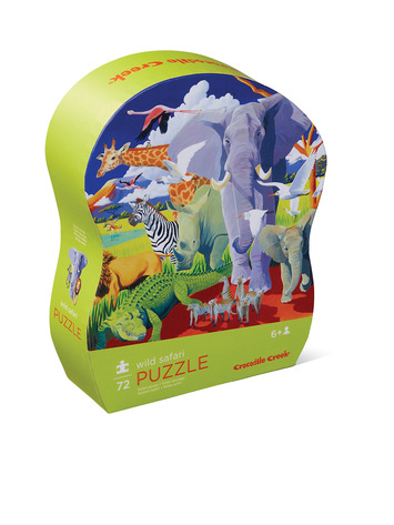 Wild Safari Junior Puzzle picture