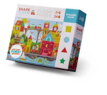 24-pc Early Learning / Shape Town picture