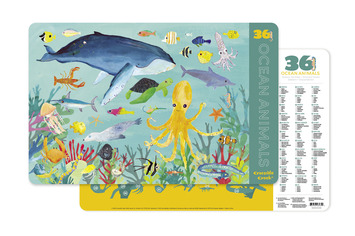 Ocean Animals Two-Sided Placemat picture