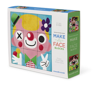 People Make a Face Puzzle Blocks picture