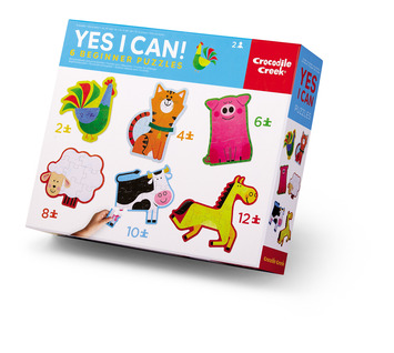Yes I Can Beginner Puzzle - Barnyard picture
