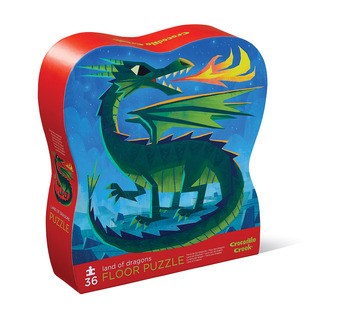 36-pc Puzzle/Land of Dragons picture