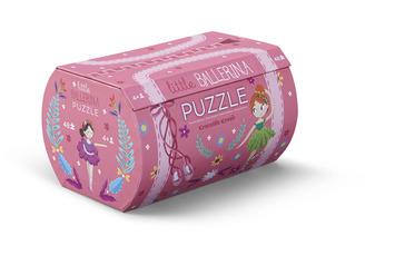 Little Ballerina Double Fun Puzzle picture