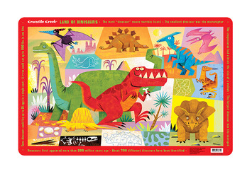 Land of Dinosaurs Placemat picture