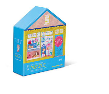 Pet Shop Two-Sided Puzzle picture