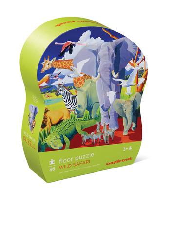 36-pc Puzzle/Wild Safari picture