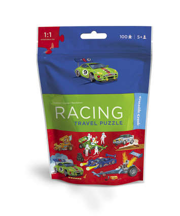 Race Car Travel Pouch Puzzle picture