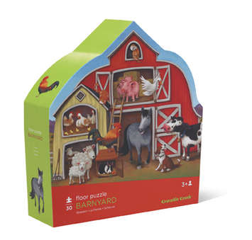 Barnyard Shaped Puzzle picture