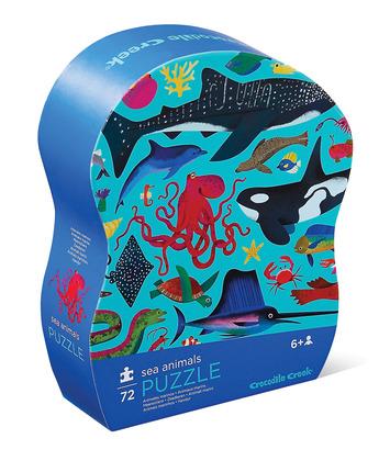 72-pc Puzzle/Sea Animals picture