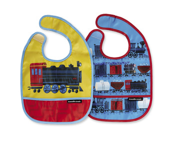 Riding the Rails Bib / Set of 2 / Travel Pouch picture