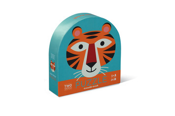 Tiger Friends Two-Sided Puzzle picture
