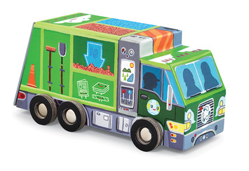 Recycle Truck Vehicle Puzzle picture