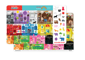 Color City Two-Sided Placemat picture