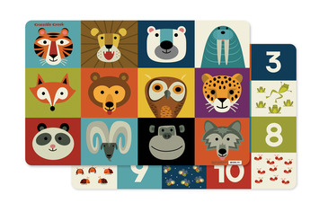 Jungle Jamboree Two-Sided Placemat picture