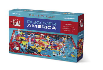 Discover America Learn + Play Puzzle 100pc picture