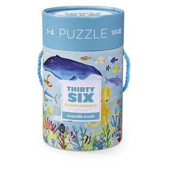 Ocean Thirty-Six Animals Puzzle picture