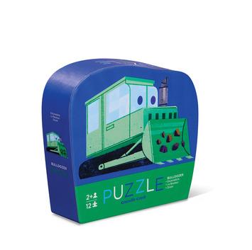 Little Bulldozer Mini Puzzle picture