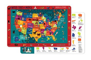 United States of America Two-Sided Placemat picture