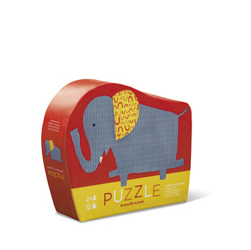 Happy Elephant Mini Puzzle picture