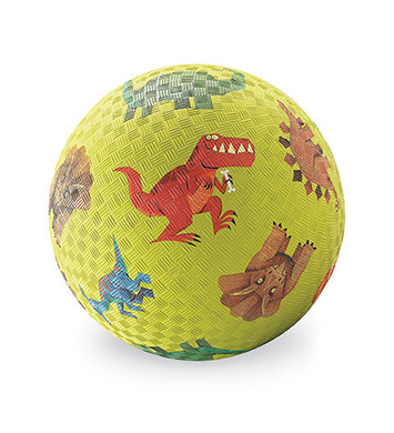 """5"""" Dinosaurs Green Playball picture"""