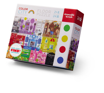 Early Learning Color City Puzzle picture