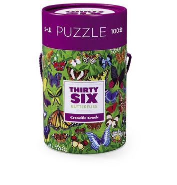 Butterflies Thirty-Six Animals Puzzle picture