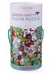 Garden Party Canister Floor Puzzle