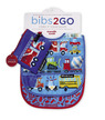 Busy City Bib / Set of 2 / Travel Pouch additional picture 1
