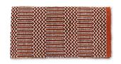 Ramrod Doubleweave - 32X64 - Rust/Blk