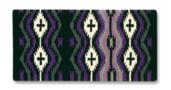 Las Cruces 36x34 Blk/Char/Ash/Royal Lilac/Orchid/Crm