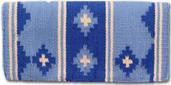 Apache Pony - 24X24 - Crystal Blue Ice/Periwinkle/Crm