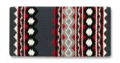 Riverland - 36x34 - Charcoal/Ash/Crm/Blk/Red/Tibetan Red