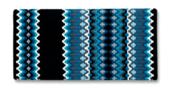 Gemini - 40x34 - Blk/Crm/Sft Turq/ Ocean Blu/Charc