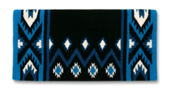 Phoenix - 38x34 - Blk/Sh Turq/Ocean Blue