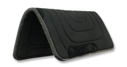 Western Pad - Black - 32x32 picture