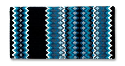 Gemini - 40x34 - Blk/Crm/Sft Turq/ Ocean Blu/Charc picture