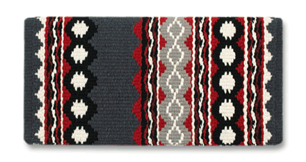 Riverland - 36x34 - Charcoal/Ash/Crm/Blk/Red/Tibetan Red picture