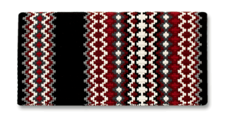 Gemini - 40x34 -  Blk/Ash/Tibetan Red/Crm/Red/Charc picture