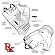 RSM-HV Men's Short Finger RX Hi-Vis additional picture 13