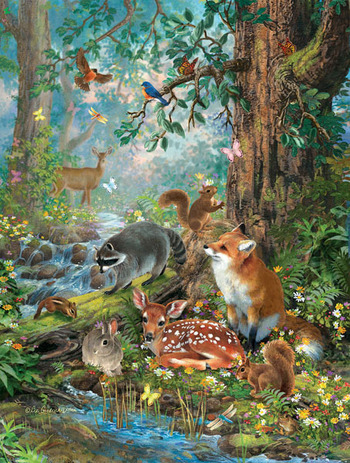 Woodland Forest Friends picture