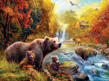 Bears at the Stream picture