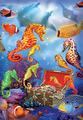 Treasure Ship Sea Horses
