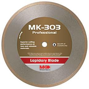 "MK-303 10"" x .032"" x 5/8"" - Continuous Rim picture"