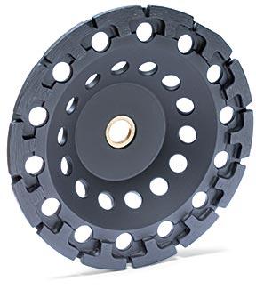 """T-Segment Cup Wheel 7"""" x 5/8""""-11 picture"""