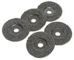 "4-1/2"" 16 Grit Sawtec Abrasive Grinding Discs - 5 Pack"
