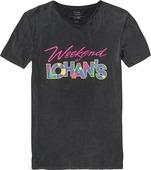 LOHANS TEE (ACID BLACK)
