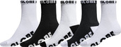 B&W Crew Sock 5pk